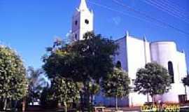 Indiaporã - Praça e Igreja Matriz-Foto:ROBERTO MENDES DA SI…