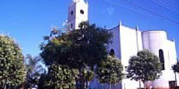 Praça e Igreja Matriz-Foto:ROBERTO MENDES DA SI…