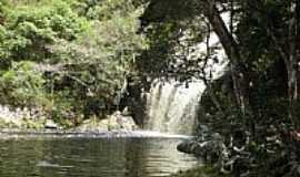 Pindobaçu - Cachoeira do Poço Pelado em Pindobaçu-BA-Foto:Antonio Macedo Rocha