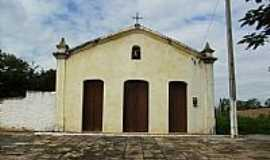 Pindobaçu - Capela do Sagrado Coração de Jesus em Pindobaçu-BA-Foto:Antonio Macedo Rocha