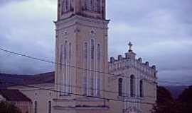 Pindobaçu - Matriz da Paróquia Senhor Bom Jesus em Pindobaçu-BA-Foto:Antonio Macedo Rocha
