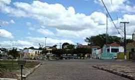 Pindobaçu - Praça Emílio Hilarião em Pindobaçu-BA-Foto:Antonio Macedo Rocha