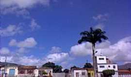 Pindobaçu - Rua frei Eduardo em Pindobaçu-BA-Foto:Antonio Macedo Rocha