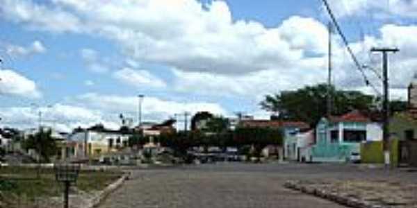 Praça Emílio Hilarião em Pindobaçu-BA-Foto:Antonio Macedo Rocha