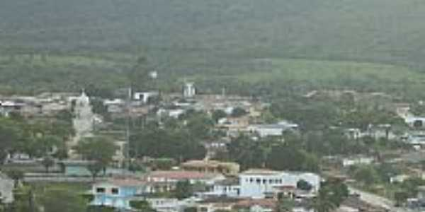 Vista parcial da cidade de Pindoba�u-BA-Foto:Antonio Macedo Rocha