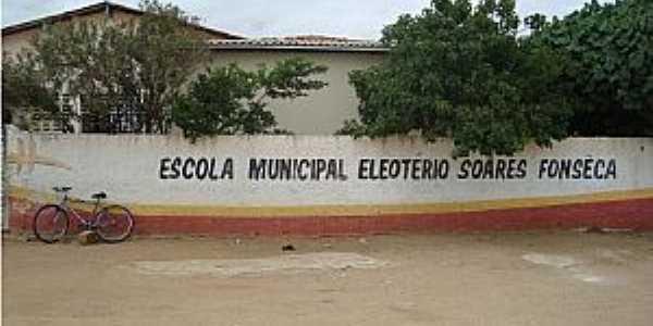 Pinhões-BA-Escola Municipal-Foto:Escola de Formação