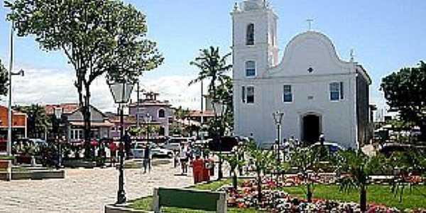 Itanhaém-SP-Praça e Matriz de Sant´Ana-Foto:PMItanhaem