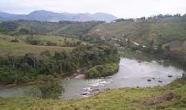 Itaóca - Itaóca-SP-Curva do Rio Ribeira-Foto:vidal.mota