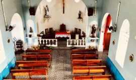 Itaóca - Piso interno da Igreja Matriz de Itaoca Sp, Por Paula Borgo