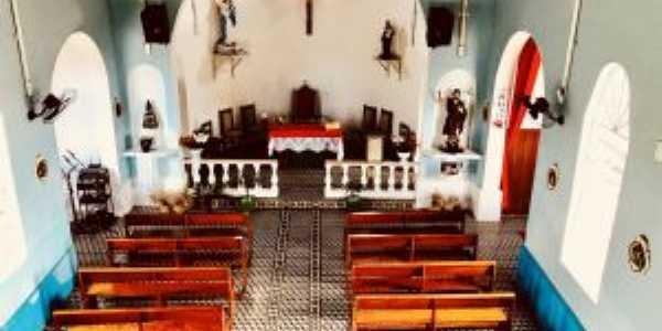 Piso interno da Igreja Matriz de Itaoca Sp, Por Paula Borgo