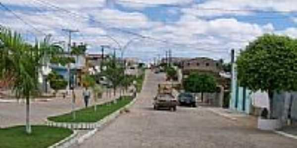 Rua Osório Batista em Pintadas-Foto:adailtondasilva