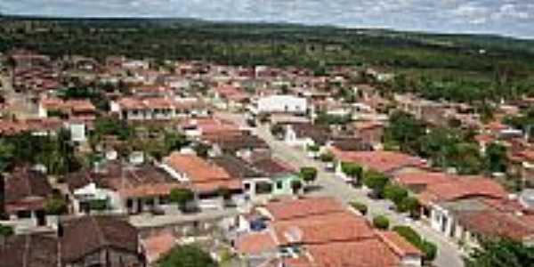 Vista da cidade de Pintadas-Foto:adailtondasilva