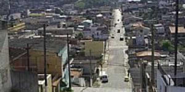 Rua Dr.José Pedro de Castro em Itapevi-SP-Foto:Kleber Sadao Aono,postada por Daniel Souza Lima