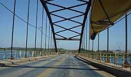 Itapura - Itapura-SP-Ponte sobre o Rio Tietê Itapura/Andradina-Foto:nirtão