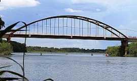 Itapura - Ponte sobre o rio Tietê em Itapura