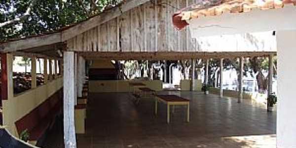 Itapura-SP-Galpão de festas do GRECAN-Foto:nirtão