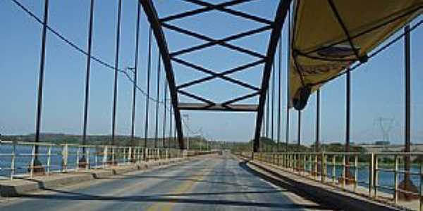 Itapura-SP-Ponte sobre o Rio Tietê Itapura/Andradina-Foto:nirtão