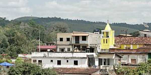 Piraí do Norte-BA-Vista da Paróquia de Santo Antônio-Foto:Caio Graco Machado