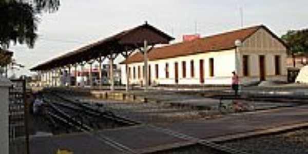 Antiga Estação Ferroviária de Jacareí-Foto:leonir angelo lunard…
