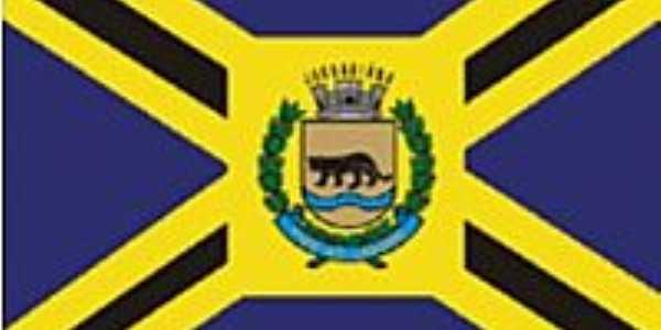 Bandeira da cidade de Jaguari�na-SP