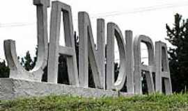 Jandira - Entrada da cidade de Jandira-Foto:André Bonacin