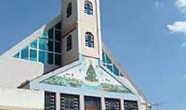 Jandira - Igreja de N.Sra.Aparecida em Jandira-Foto:dtcnet