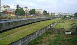 Jandira - Linha da CPTM em Jandira-Foto:antonor