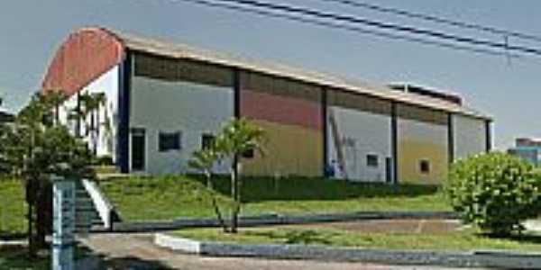 Jandira-SP-Ginásio de Esportes Central-Foto:www.encontrajandira.com.br