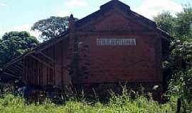 Jardinópolis - Jardinópolis-SP-Antiga Estação Ferroviária de Cresciúma-Distrito de Jardinópolis-Foto:Leonardo Figueiredo
