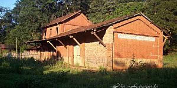 Jardinópolis-SP-Antiga Estação no Distrito de Visconde do Parnaíba-Foto:Leonardo Figueiredo