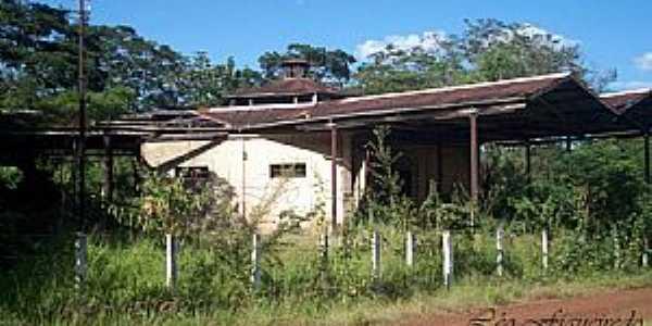 Jardinópolis-SP-Estação no Distrito de Entroncamento-Foto:Leonardo Figueiredo