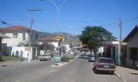 Joanópolis - Avenida central de Joanópolis-Foto:Detog