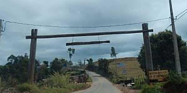 Joanópolis-SP-Pórtico de entrada da cidade-Foto:trilhadosinvisiveis.blogspot.com.br