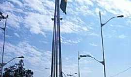 José Bonifácio - Mastro da Bandeira Brasileira, por Carlos Manchini