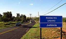 Juliânia - Juliânia-Foto:Eduardo M. P. Dantas