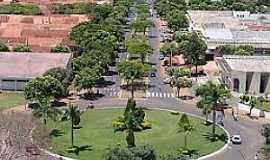 Júlio Mesquita - Julio Mesquita-SP-Rotatória na entrada da cidade-Foto:Portal CCB