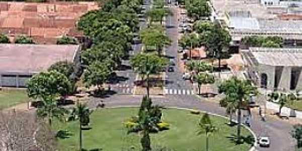 Julio Mesquita-SP-Rotatória na entrada da cidade-Foto:Portal CCB