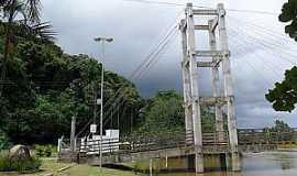 Juquiá - Juquiá-SP-Torre da Ponte sobre o Rio Juquiá-Foto:Luiz Pedro