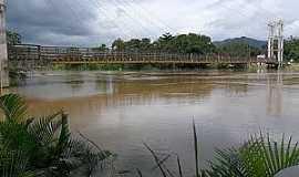 Juquiá - Juquiá-SP-Vista da Ponte sobre o Rio Juquiá-Foto:Luiz Pedro