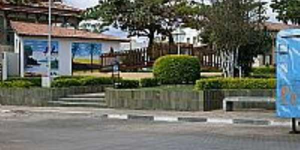 Praça da Bandeira em Piripá-BA-Foto:atrekbrasil.