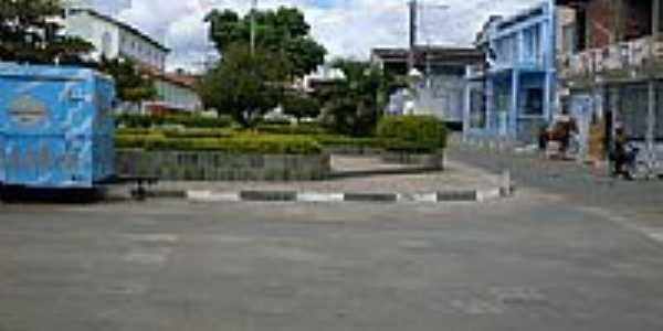 Praça da Bandeira no centro de Piripá-BA-Foto:dila baixinha