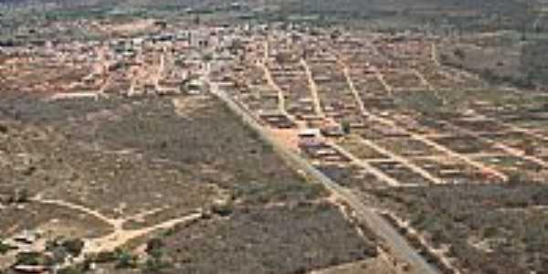 Vista aérea da cidade de Piripá-BA-Foto:atrekbrasil.