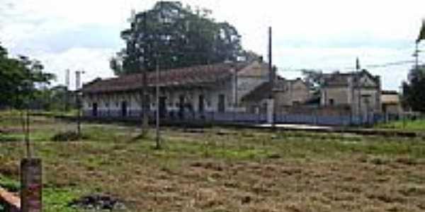 Estação Ferroviária-Foto:Daniel Souza Lima