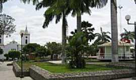 Piritiba - Praça Getúlio Vargas em Piritiba-BA-Foto:bacanafest