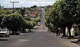 Lavínia - Lavínia-SP-Avenida principal-Foto:Nilton Cezar