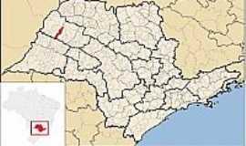 Lavínia - Lavínia-SP-Mapa de Localização