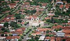 Lavínia - Lavínia-SP-Vista aérea da Matriz no centro da cidade-Foto:www.lavinia.sp.gov.br