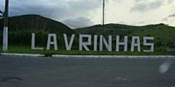 Lavrinhas-SP-Trevo de acesso-Foto:Paulo Antunes Jr