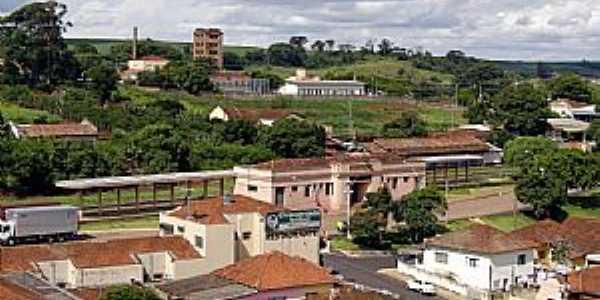 Lençóis Paulista-SP-Vista da Estação Ferroviária-Foto:Adriano Martins