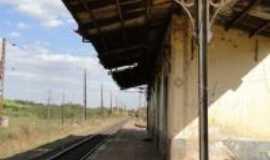 Limeira - Antiga Estação Ferroviária no Bairro Tatú em Limeira SP, Por Edemar C. Hebling SJCampos SP
